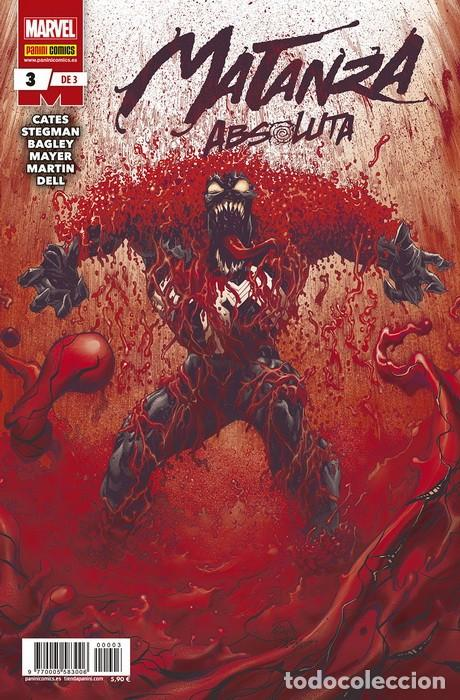 MATANZA ABSOLUTA 03 (Tebeos y Comics - Panini - Marvel Comic)