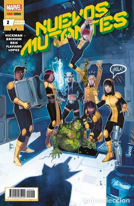 NUEVOS MUTANTES 02 (Tebeos y Comics - Panini - Marvel Comic)