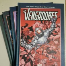 Cómics: BEST OF MARVEL ESSENTIALS - LOS VENGADORES - TOMOS 1 2 3 4 - COMPLETO - PANINI - BUSIEK PEREZ. Lote 195048756
