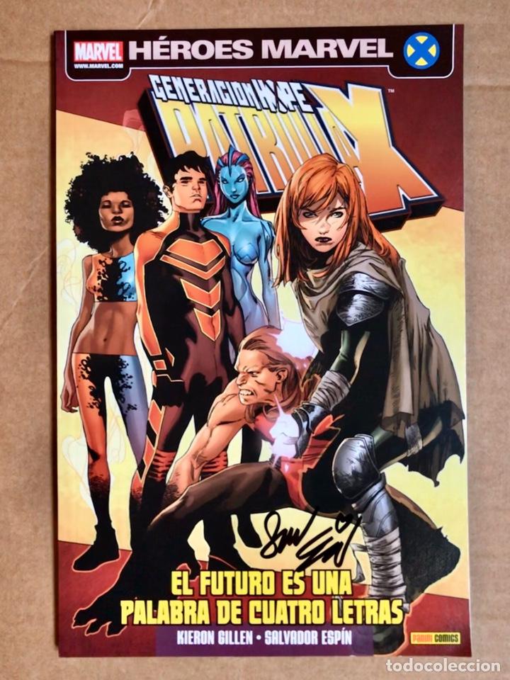 PATRULLA-X: GENERACIÓN HOPE. FIRMADO POR SALVA ESPÍN (Tebeos y Comics - Panini - Marvel Comic)