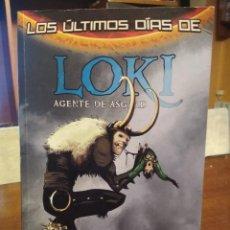 Cómics: LOS ULTIMOS DIAS DE LOKI / AGENTE DE ASGARD/ PANINI COMICS / MARVEL. Lote 195058191