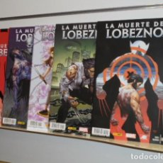 Cómics: LA MUERTE DE LOBEZNO COMPLETA 5 NUMEROS - PANINI. Lote 195135223