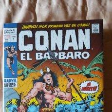 Cómics: NARVEL OMNIBUS CONAN EL BARBARO 1 LA LLEGADA DE CONAN. Lote 195159490