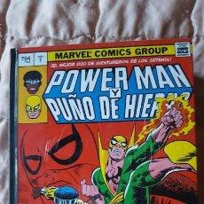 Cómics: MARVEL GOLD POWERMAN Y PUÑO DE HIERRO PANINI. Lote 195159898