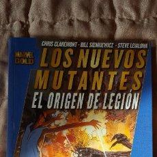 Cómics: MARVEL GOLD LOS NUEVOS MUTANTES EL ORIGEN DE LEGION. Lote 195198211