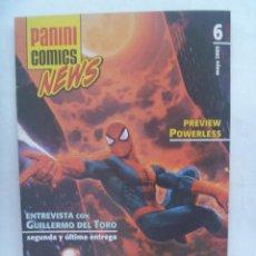 Cómics: PANINI COMICS NEWS ,Nº 6 , MAYO 2005 . UNA HISTORIA DE SPIDERMAN. Lote 195219141