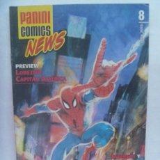 Cómics: PANINI COMICS NEWS , Nº 8 , JUNIO 2005 .UNA HISTORIA INEDITA DE SPIDERMAN. Lote 195233331