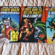 Cómics: LOTE MARVEL GOLD IRON MAN. Lote 195260650