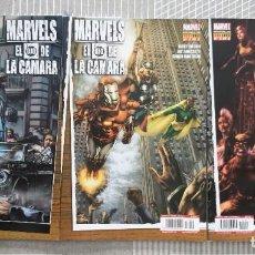Cómics: MARVELS. EL OJO DE LA CAMARA DE KURT BUSIEK SL COMPLETA DE 3 COMICS. PANINI 2010. Lote 195309155