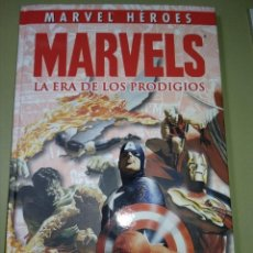 Cómics: MARVELS LA ERA DE LOS PRODIGIOS (MARVEL HÉROES). Lote 195333385