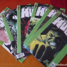 Cómics: EL INCREIBLE HULK NºS 4, 6, 7, 8, 10 Y 13 ( BRUCE JONES ) MARVEL PANINI. Lote 195362715