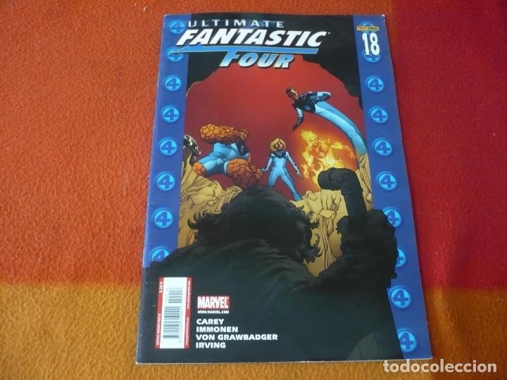 ULTIMATE FANTASTIC FOUR Nº 18 ANNUAL 2 ( CAREY IMMONEN ) MARVEL PANINI LOS 4 FANTASTICOS (Tebeos y Comics - Panini - Marvel Comic)