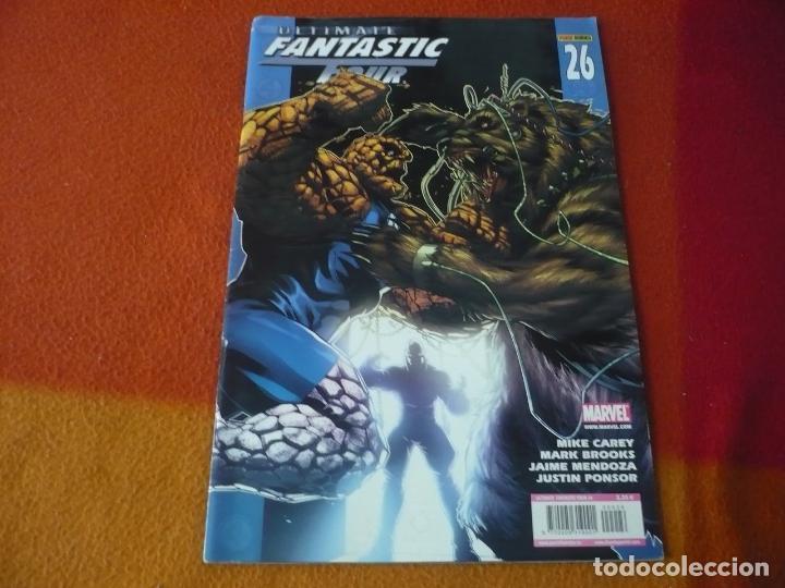 ULTIMATE FANTASTIC FOUR Nº 26 ( CAREY ) MARVEL PANINI LOS 4 FANTASTICOS (Tebeos y Comics - Panini - Marvel Comic)