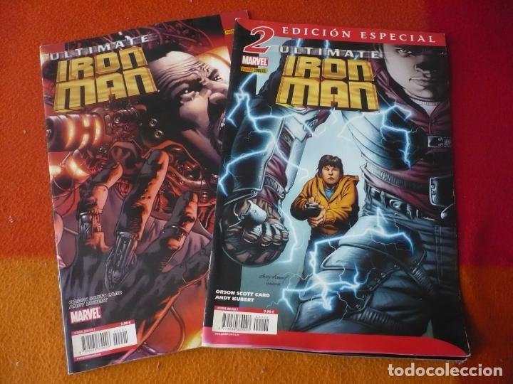 ULTIMATE IRON MAN NºS 1 Y 2 ( SCOTT CARD KUBERT ) MARVEL PANINI (Tebeos y Comics - Panini - Marvel Comic)