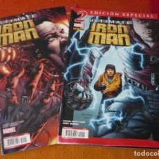 Cómics: ULTIMATE IRON MAN NºS 1 Y 2 ( SCOTT CARD KUBERT ) MARVEL PANINI . Lote 195370473