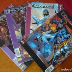 Cómics: THE ULTIMATES VOL. 2 NºS 1, 2, 3 Y 4 ¡COMPLETA! ( MILLAR HITCH ) MARVEL PANINI . Lote 195370767