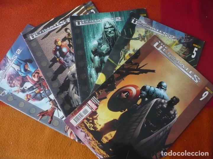 THE ULTIMATES 2 NºS 1, 2, 3, 5 Y 9 ( MILLAR HITCH ) MARVEL PANINI (Tebeos y Comics - Panini - Marvel Comic)