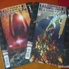 Cómics: ULTIMATE EXTINCTION NºS 1 Y 2 ¡COMPLETA! ( WARREN ELLIS ) PANINI MARVEL. Lote 195372070