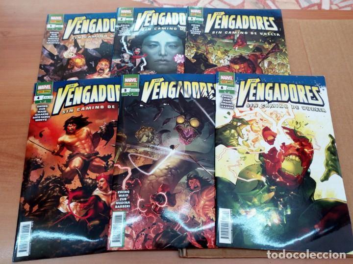 LOS VENGADORES: SIN CAMINO DE VUELTA, COMPLETA. EWING, WAID, ZUB, MEDINA, IZAAKSE... (Tebeos y Comics - Panini - Marvel Comic)