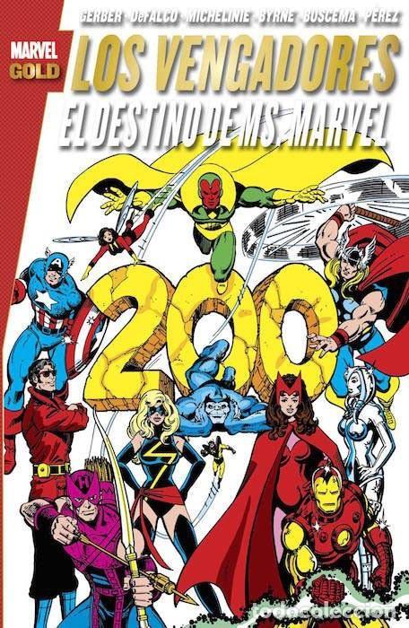 VENGADORES : EL DESTINO DE MS MARVEL - PANINI / MARVEL GOLD / TOMO (Tebeos y Comics - Panini - Marvel Comic)