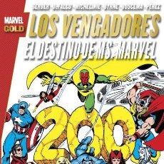 Cómics: VENGADORES : EL DESTINO DE MS MARVEL - PANINI / MARVEL GOLD / TOMO. Lote 195383011
