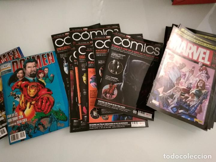 LOTE 32 REVISTAS PANINI MARVEL AGE Y 9 ECC DC COMICS + REGALO DOLMEN (Tebeos y Comics - Panini - Marvel Comic)