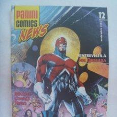 Cómics: PANINI COMICS NEWS , Nº 12, NOVIEMBRE 2005 . Lote 195429956