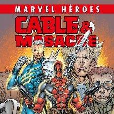 Cómics: MARVEL HÉROES - CABLE MASACRE , CIVIL WAR. Lote 195432493