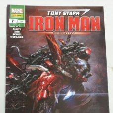 Cómics: TONY STARK IRON MAN Nº 106 / 7 - BENDIS / MARVEL PANINI. Lote 195466372