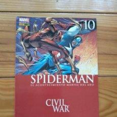 Cómics: SPIDERMAN VOLÚMEN 7 Nº 10 - CIVIL WAR . Lote 195536720