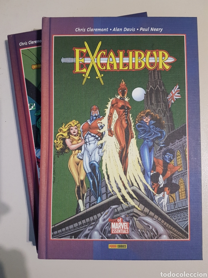 EXCALIBUR DE ALAN DAVIS - TOMOS 1 Y 2 - BEST OF MARVEL ESSENTIALS - PANINI (Tebeos y Comics - Panini - Marvel Comic)