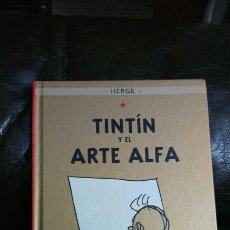 Cómics: TINTIN Y ÉL ARTE ALFA. CASTERMAM 2006 PANINI. Lote 195679481