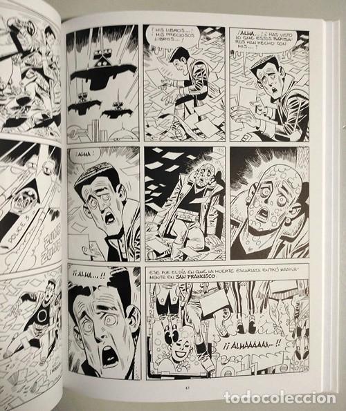 Cómics: La peste escarlata (Carlos Giménez) / Evolution - Panini, 2015   ADAPTACIÓN DE RELATO DE JACK LONDON - Foto 6 - 196069372