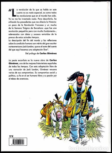 Cómics: La peste escarlata (Carlos Giménez) / Evolution - Panini, 2015   ADAPTACIÓN DE RELATO DE JACK LONDON - Foto 8 - 196069372
