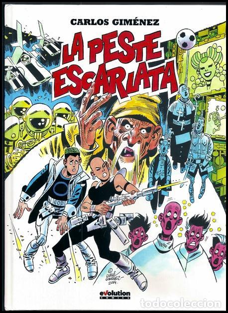 LA PESTE ESCARLATA (CARLOS GIMÉNEZ) / EVOLUTION - PANINI, 2015   ADAPTACIÓN DE RELATO DE JACK LONDON (Tebeos y Comics - Panini - Otros)