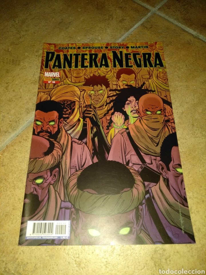 PANTERA NEGRA 10 (Tebeos y Comics - Panini - Marvel Comic)