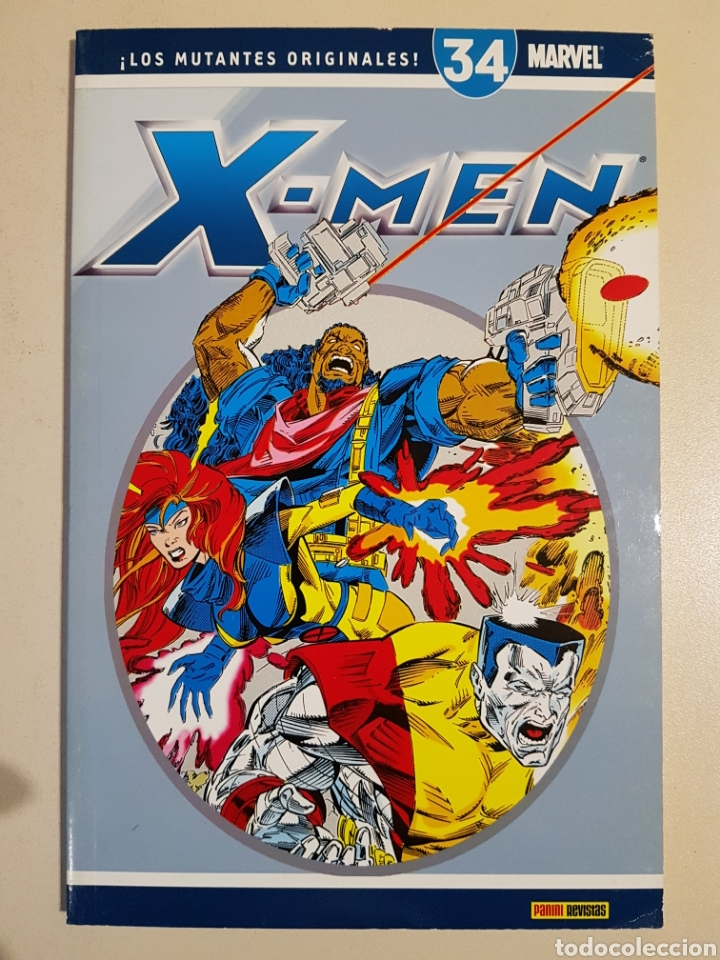 COLECCIONABLE X-MEN 34 - PANINI (Tebeos y Comics - Panini - Marvel Comic)