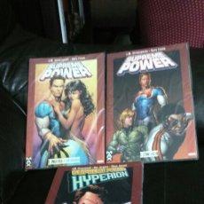 Cómics: SUPREME POWER 1 Y 2 Y HYPERION. Lote 196554751