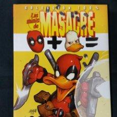 Cómics: LAS MINIS DE MASACRE - MASACRE EL PATO - MASACRE VS. EL CASTIGADOR - PANINI - . Lote 196967057