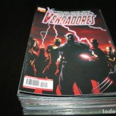 Cómics: LOS NUEVOS VENGADORES 1 AL 50, EXCEPTO 39 - EN FUNDA - PANINI. Lote 197082797