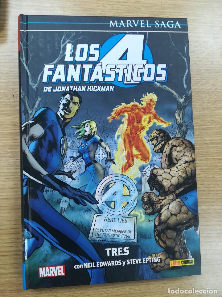 4 FANTASTICOS DE JONATHAN HICKMAN #3 TRES (MARVEL SAGA #96) (Tebeos y Comics - Panini - Marvel Comic)