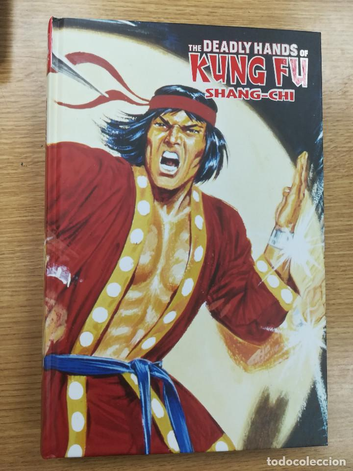 SHANG-CHI THE DEADLY HANDS OF KUNG FU (MARVEL LIMITED EDITION #63) (Tebeos y Comics - Panini - Marvel Comic)