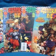 Cómics: GENERATION NEX Nº 1, 2, 3, 5 DE 1995 - MARVEL COMICS - VERSIÓN ORIGINAL USA. Lote 197513430