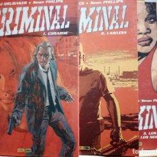 Comics: CRIMINAL 3 TOMOS. 1-COBARDE / 2-LAWLESS / 3-LOS MUERTOS Y LOS MORIBUNDOS. Lote 197565555