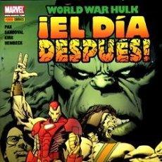 Comics : WORLD WAR HULK - EL DÍA DESPUES - PANINI - DESCUENTO 20%¡¡¡. Lote 197675740