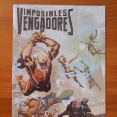 Comics: IMPOSIBLES VENGADORES - Nº 27 - MARVEL - PANINI (GD). Lote 198017845