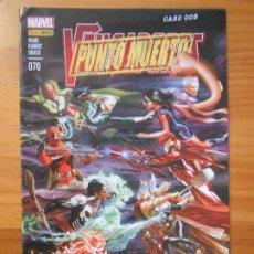Comics: LOS VENGADORES VOL. 4 Nº 70 - PUNTO MUERTO - MARVEL - PANINI (8K). Lote 198103657