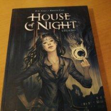 Cómics: HOUSE OF NIGHT: LEGADO. Lote 198474342