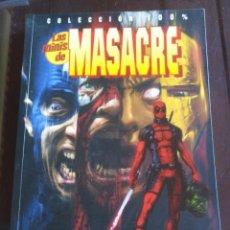 Cómics: LAS MINIS DE MASACRE - N°2 - MARVEL - PANINI . Lote 199137765