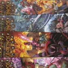 Comics : UNIVERSO MARVEL: LA GUERRA DE LOS REINOS VOL.1- Nº 1 - 2 - 3 Y 4 COMPLETA - PANINI -. Lote 199296803
